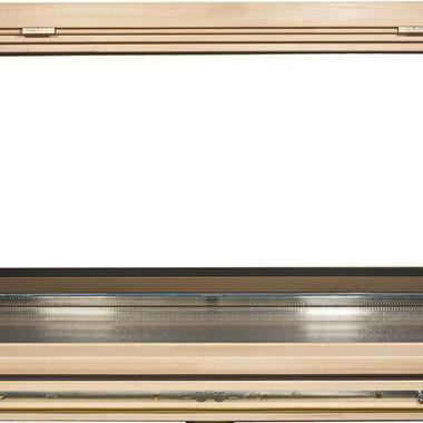окно для бани откидное