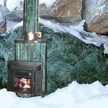 Дымоход-конвектор для печи Ламель в змеевике