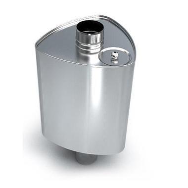Бак Байкал на трубе - 53 литра