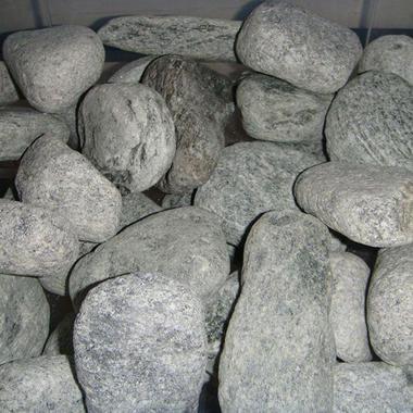 Камни в баню Талько-хлорит (шлифованный)