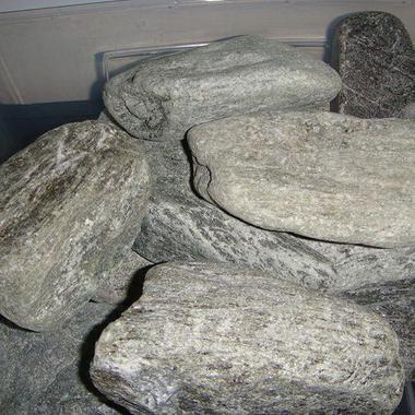 Камни для сауны или бани - Талько-хлорит (обвалованный)