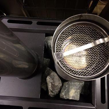 Фитоконтейнер для печей в Русской бани