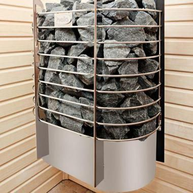 Электрическая каменка Helo Ring Wall St в баню и сауну