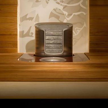 Электрическая печь для бани Helo Cava DE