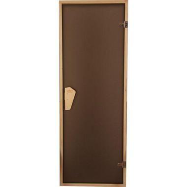 Дверь для саун стеклянные Tesli Sateen