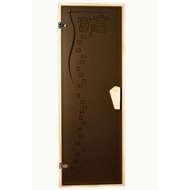Дверь Tesli Graphic в сауну