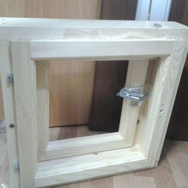 Окна для сауны и бани на заказ